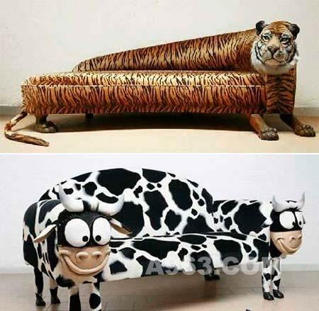 仿动物的创意沙发